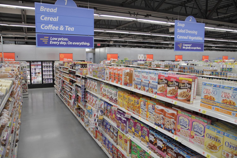 Walmart Express Interior
