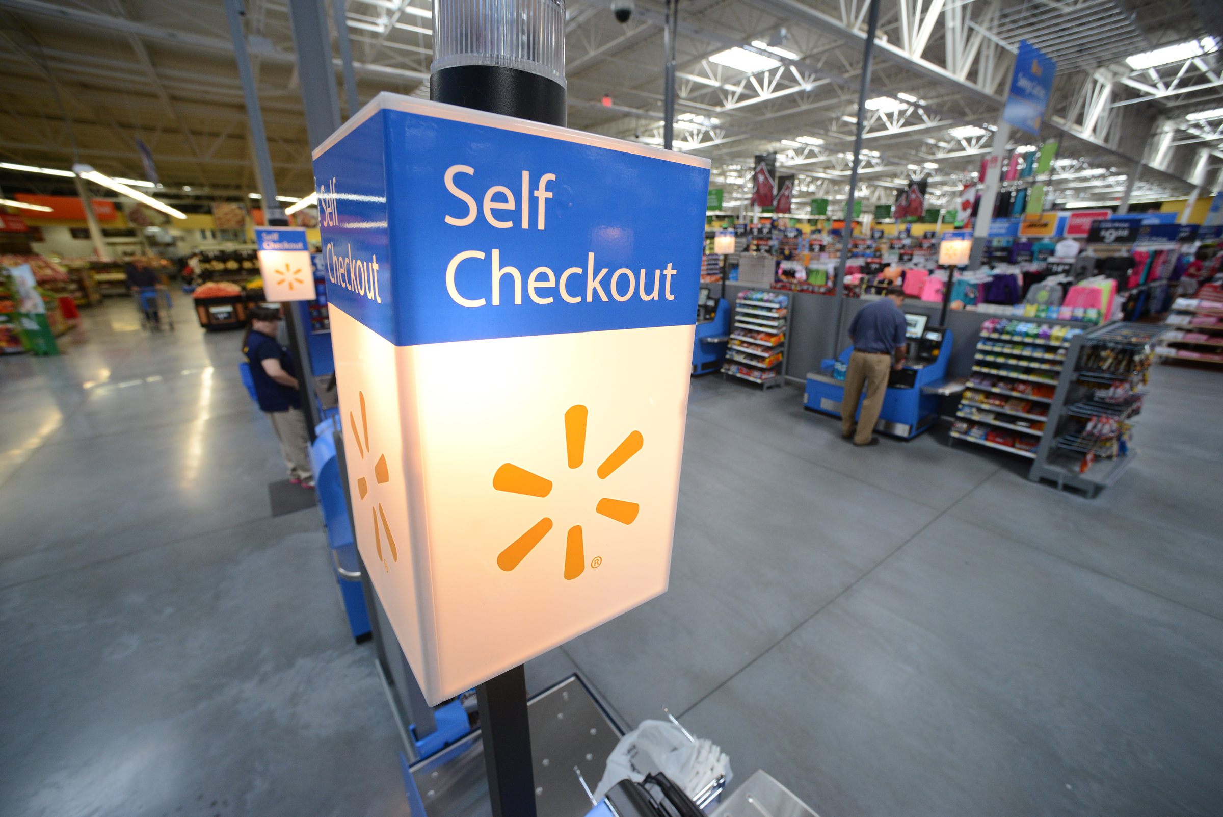 Self checkout provides customers with an alternate way of ...
