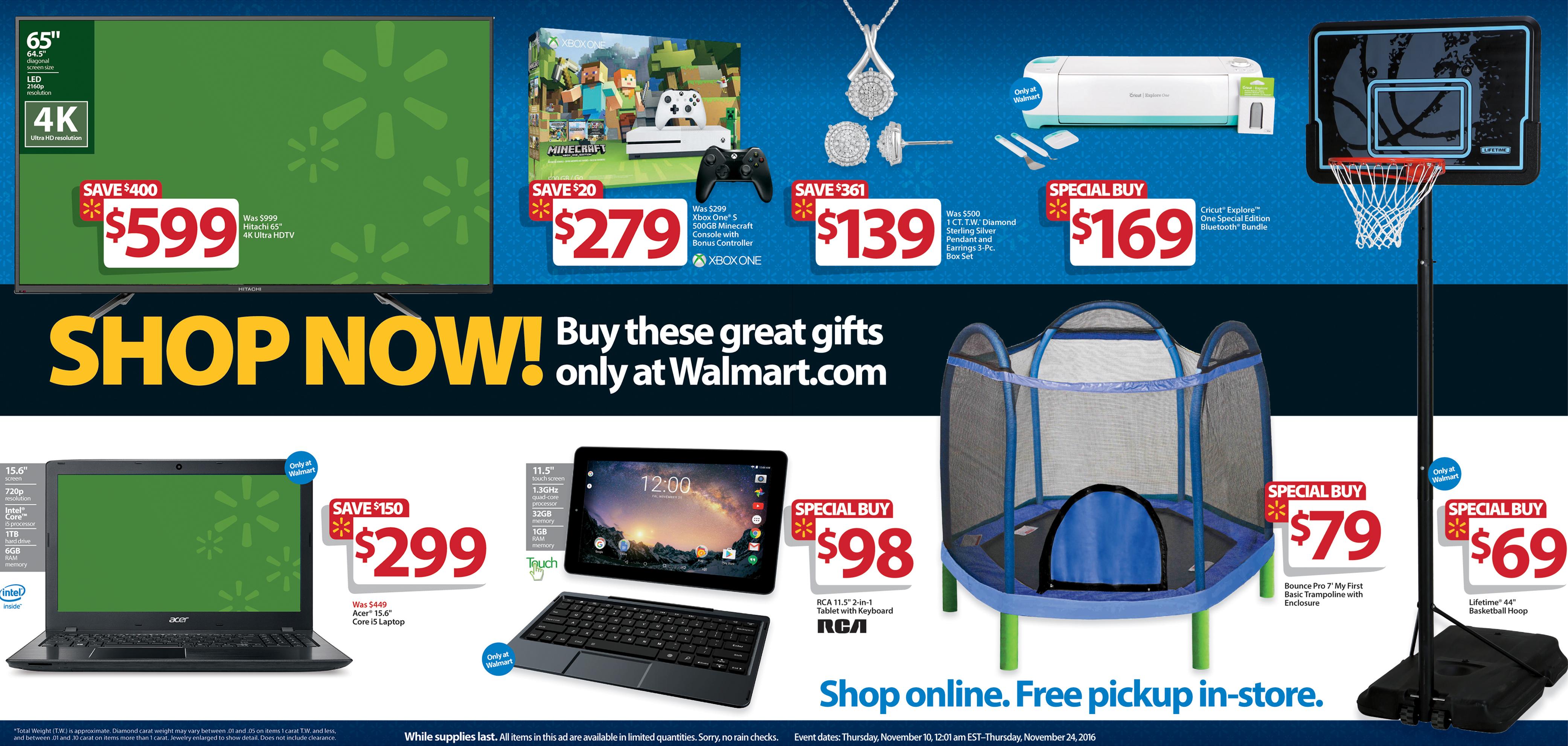 Walmart Unveils Black Friday 2016 Plans – Great Deals, More