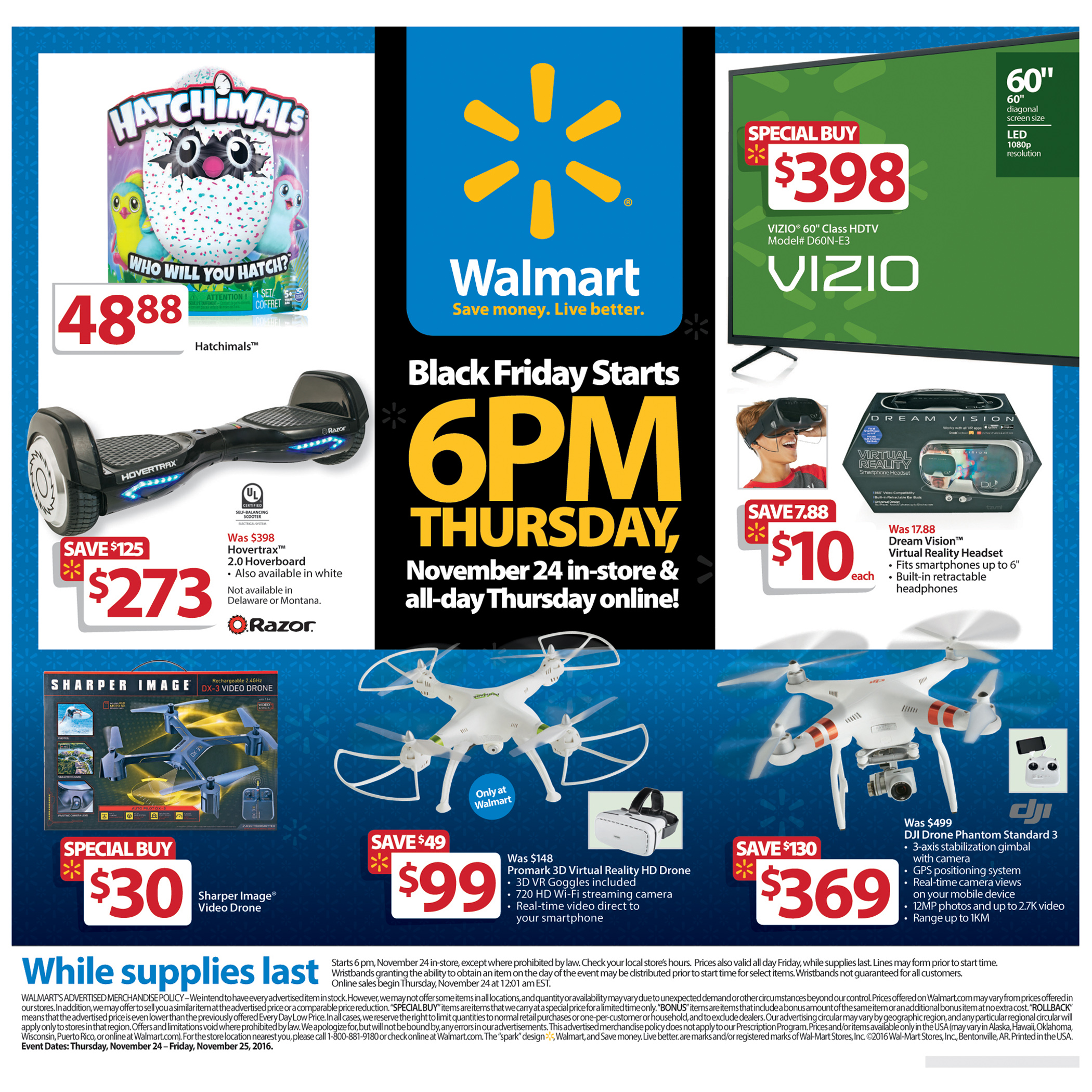 Walmart Unveils Black Friday 2016 Plans Great Deals More Availability