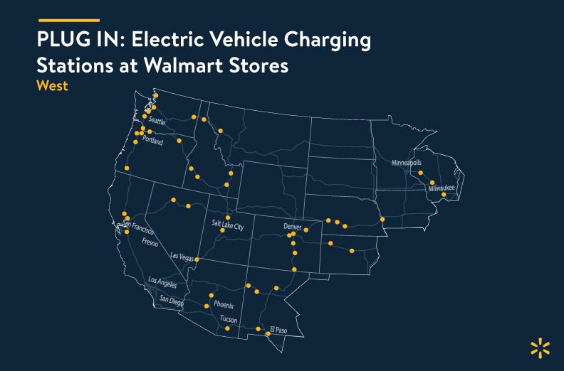 Electrify America, Walmart Announce Completion of Over 120 Charging on